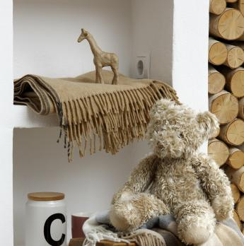 Плед  Biederlack Cosy Times 715791 Camel